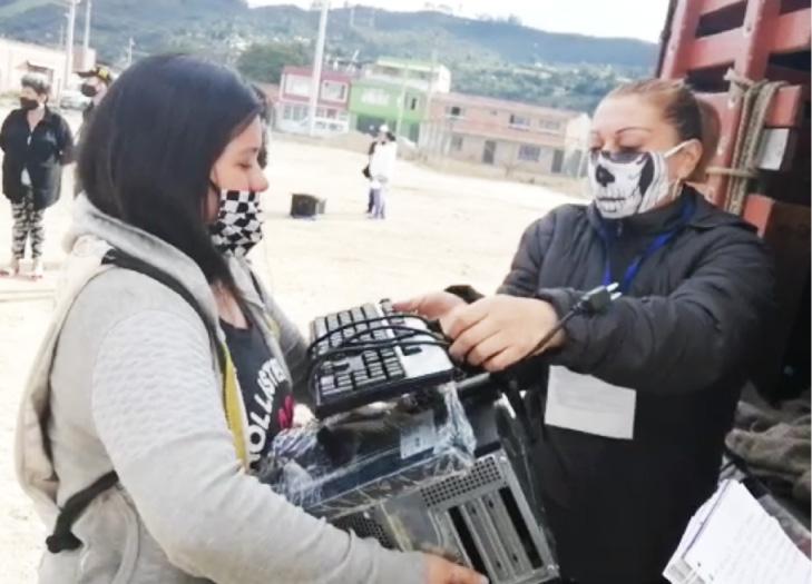 Alianza entre la Unidad para las Víctimas con la empresa privada, para ayudar a madres cabeza de hogar del centro del país.