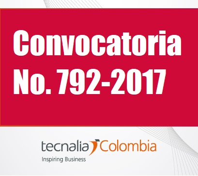 Tecnalia Colombia invita a cotizar servicios para Proveer la logística para la realización de los paneles presenciales de la Convocatoria No. 792-2017